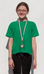 Jasmin holt sich Bronze auf 50m Brust!